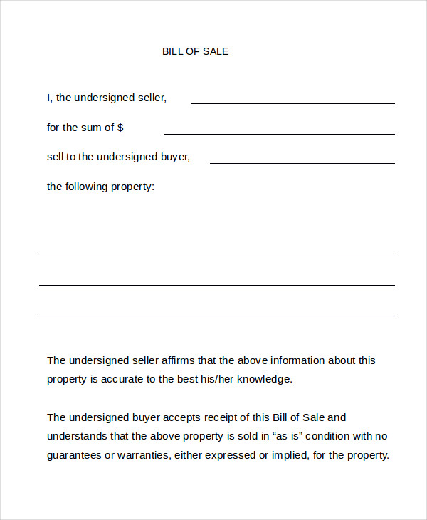 bill of sale trade form pike productoseb co